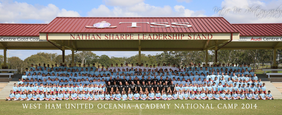 2012 West Ham United International Oceania National Camps